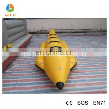 2016 hot sale 4 person banana inflatable boat for sale