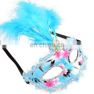 Hot Design With Feather Fantastic Sexy Cheap Women Indian Halloween Mask