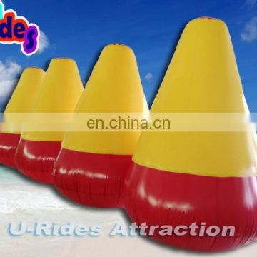 Inflatable buoys Water safety products gold color