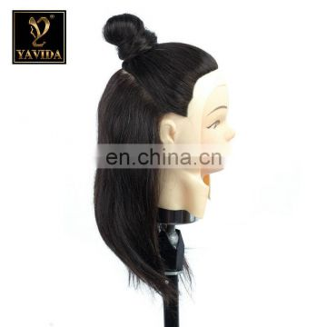 100% human hair wholesale top qualityafro training mannequin head african american mannequin head for hair schools