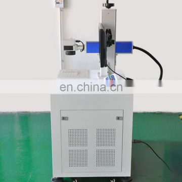 Fiber laser printing/Fiber Laser engraving Marking Machine for Metal&Plastic ABS PP PC on Packing Industry