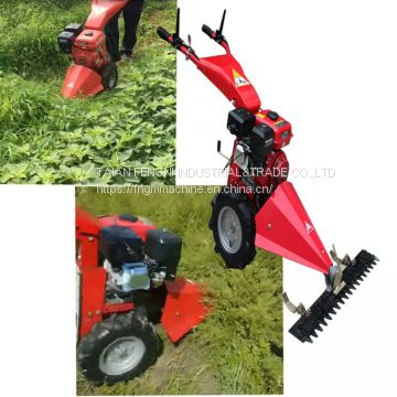 Tractor mounted sickle bar mower for two wheel tractor to grass cutting