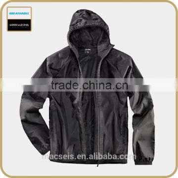 OUTDOOR BREATHABLE WATER PROOF black bomber jacket