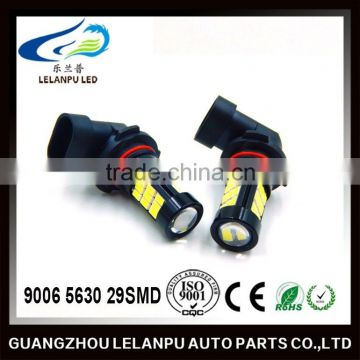 factory price Super Bright auto interior lamp lights bulb 9006 5630 29smd led car accessories lights