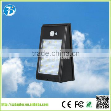 2016 Newest hot selling solar pir induction lights