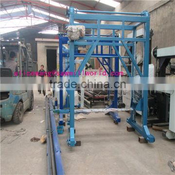hard rock wood cutting chain saw mill machine made in China