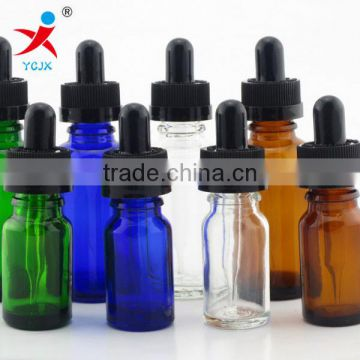 5 ml, 10 ml 15 ml 30 ml glass transparent electronic cigarette smoke oil