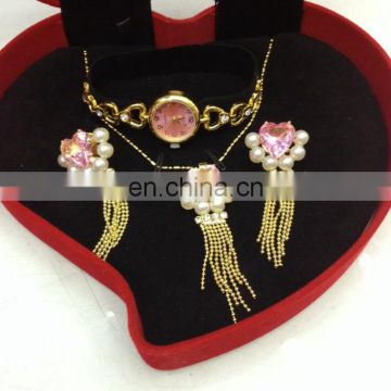 Yiwu wholesale fashion watch Jewelry Set