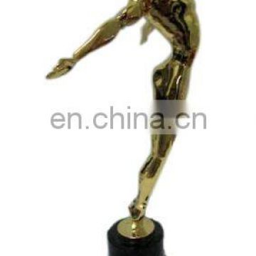 Employee Recognition Golden Human Figures Trophy