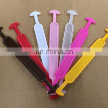 Colorful plastic handle for milk/toy carton