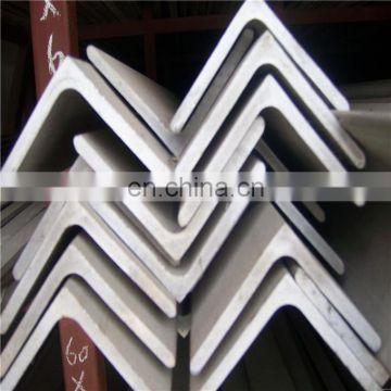 321 304 Hot rolled stainless steel angle bar