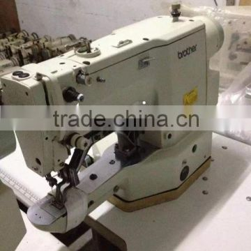 Japan Used Second Hand Industrial Brother 40 Bartack Sewing Machine Mesmerizing Reconditioned Sewing Machines
