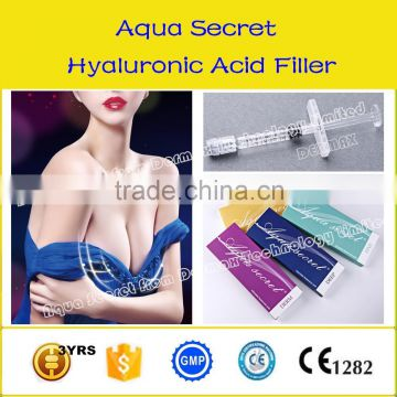 Breast enlarging injection