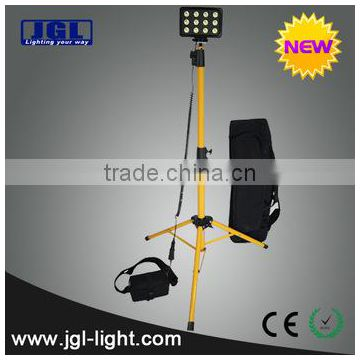 military/army LED Remote Area Lighting Systems portable waterproof led 36w 2200Lm telescopic tripod work floodlight RLS-836L