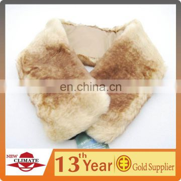 Winter Faux Fur Scarf With Women