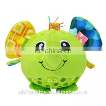 top quality professional design funny baby sound toy cute elephant plush toy