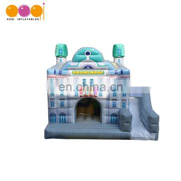 inflatable supplier kids outdoor toy building inflatable slide jumper combo bouncer