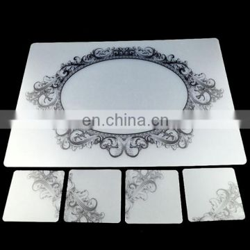 clear plastic pp placemat