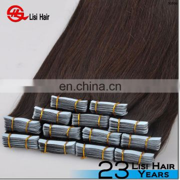 Wholesale 10A Russian Remy Tape Hair Extensions Double Drawn Tape In Hair Extensions Virgin Human