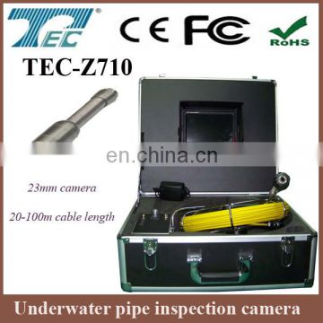 "Wholsale price!!! Underwater tube inspection camera with 7"" color monitor TEC-Z710"