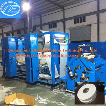 Rolling paper gluing and slitting machine(AIO)