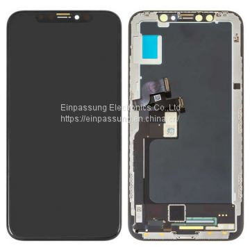 iPhone X LCD Screen and Digitizer Assembly with Frame Replacement-Black
