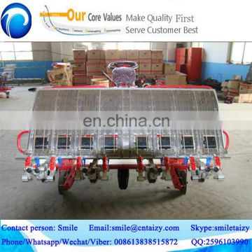 hot selling professional manufacturing diesel engine paddy field rice planting machine