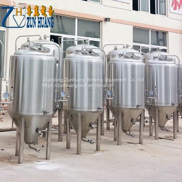 200L homebrew fermentation tank conical beer brewing equipment fermenter fermenting system for sale