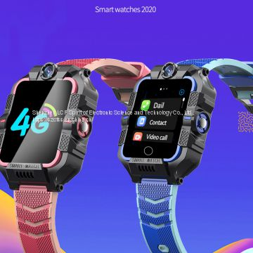 smart watch  4G child student phone watch GPS positioning + wifi video smart watch phone