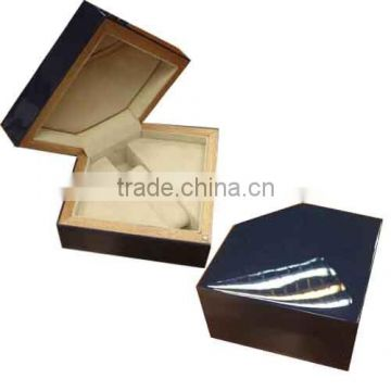 unfinished high gloss wooden pen box