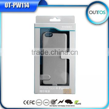 2000mah battery power case for iphone 6 plus