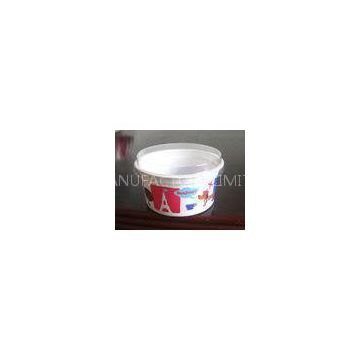 Yogurt Disposable Dessert Cups , Round Bowl With Flat Lid 130ml 4oz