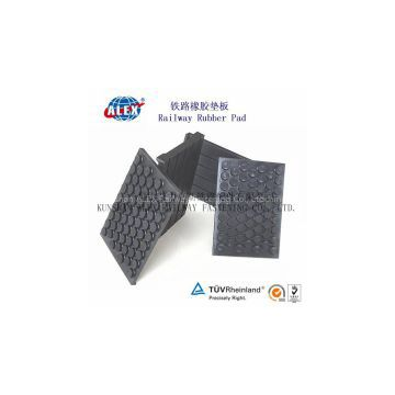 Railway Pad For Track For Railroad System, Nylon PA66 Railway Pad For Track , Top quality OEM Railway Pad For Track