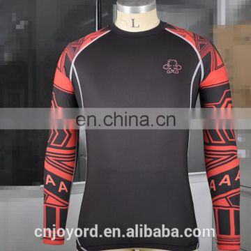Custom Printed Lycra Rash Guard for Men