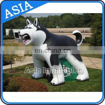 Hot Mascot Tunnels, Inflatable Tunnel Bulldog for sale, Outdoor Trade show / Advertising Inflatable Tent