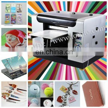 multicolor digital flatbed plastic card printer machine on sale