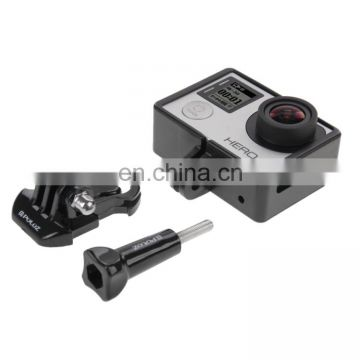 PULUZ Standard Border Frame Mount Protective Housing with Screw for GoPro HERO4
