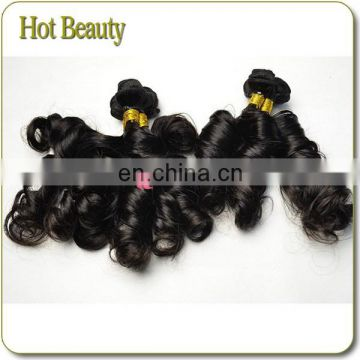 Highly praised by consuming public Virgin Remy Brazilian Funmi Wave french twist human hair