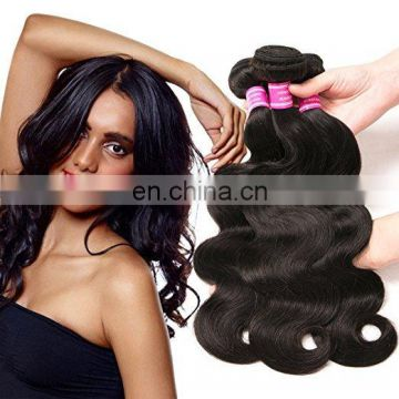 Best Selling Body Wave Wholesale Price Virgin Indian Hair 3 bundles hair weaving
