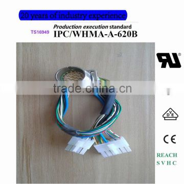 1_7_27433_800_800 intercontec m23 connector(crimping assembly) wire harness of