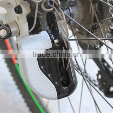 Motorcycle Bike Sturdy Wheel Disc Brake Lock Security Safety Alarm + key bicycle lock with alarm