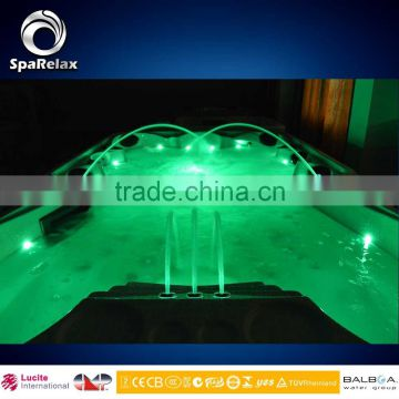 9 person Bathtubs & Whirlpools,Contemporary LED Spa (A870)