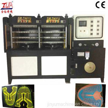 2/3 color kpu shoes upper making machine, kpu sport shoes making machine
