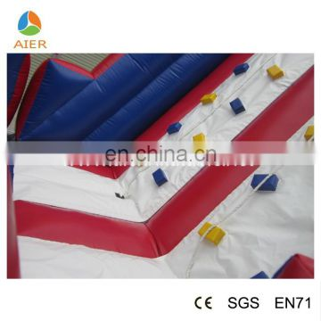 AIER New Style Commercial 0.55mm PVC tarpaulin Inflatable Obstacle For Sale