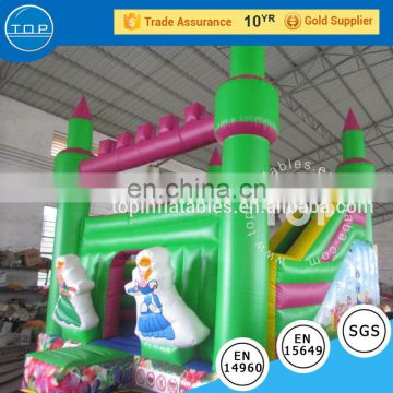 Inflatable combo bouncy castle inflatable kingdom combo with slide bouncer