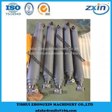 Multi stage Telescopic Welded Hydraulic Cylinders for Agricultural Dump Truck