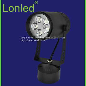 LED Track Spotlight Aluminum Case Black / White Case 12W high power
