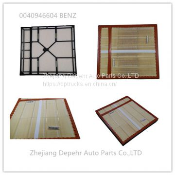 Zhejiang Depehr Heavy Duty European Tractor Engine Parts Benz Truck Cabin Air Filter 0040946604 C641500/1