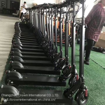 Chinese good quality foldable powerful Electric Scooter with APP connected cellphone with best price