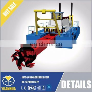 "12"" 300mm / 350mm suction diameter hydraulic cutter suction dredge"